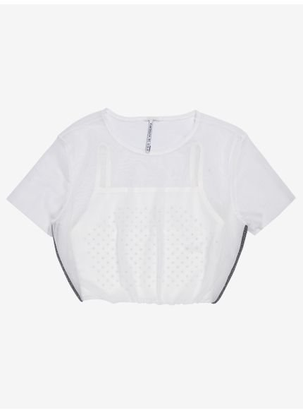 blusa de tule com transparencia t7347 still