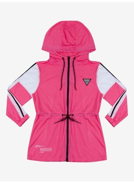 jaqueta corta vento neon pink authoria t6907 still