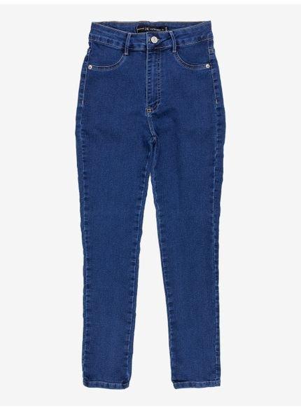 calca jeans skinny t7110 azul escuro