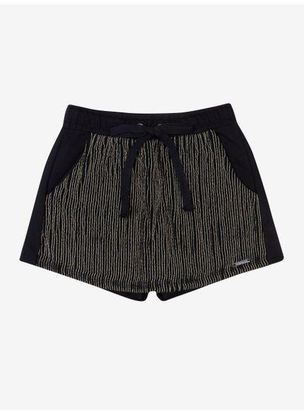 shorts saia moletom listradro lurex t6821 still