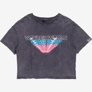 T shirt Mulher Maravilha Cinza T7136