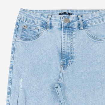 Calca Jeans Clara Juvenil Destoyed T6362 detalhe