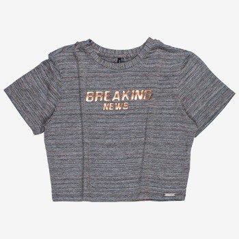 T shirt Listrada Cobre juvenil Feminina T7045