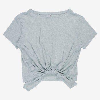 blusa de lurex com amarracao juvenil t7156