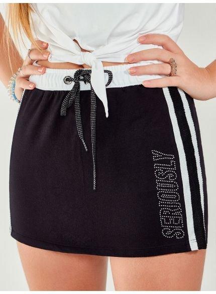shorts saia esportivo preto t6993