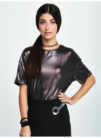 blusa juvenil feminina furta cor authoria t7232