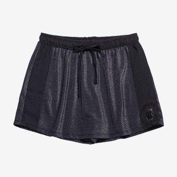 Shorts Saia Juvenil com Brilho Preto Authoria