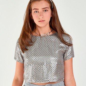 Blusa Juvenil Feminina de Paete Abertura Costas