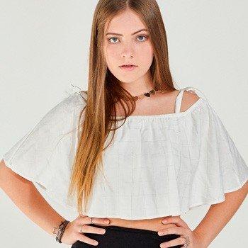 blusa ombro a ombro juvenil feminina authoria