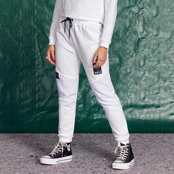 Calca Jogger Juvenil de Moletom Off White T7308