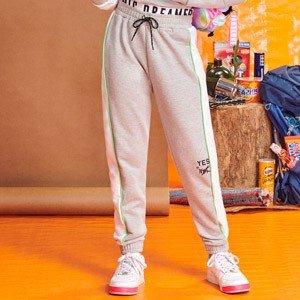 Calca Jogger Teen de Moletom Mescla I Am R2346