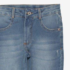 Calca Jeans Teen Basic com Rasgos I Am R2409