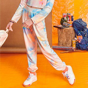 Calca Jogger Teen Tie Dye de Moletom I Am R2529