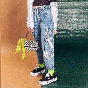 Calca Jeans Teen Pernalonga I Am R2557