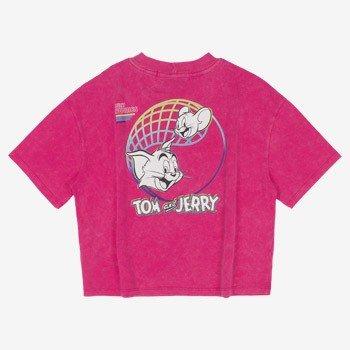 Camiseta Juvenil Pink Tom e Jerry Authoria T7534